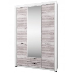 Трехстворчатый шкаф для одежды с зеркалом Оливия 3D2S Z