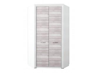 Угловой шкаф для одежды Оливия 2D