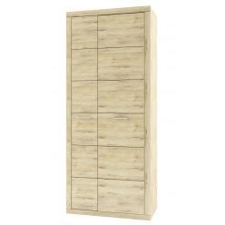 Двухстворчатый шкаф для одежды Оскар 2D