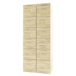 Двухстворчатый шкаф для одежды Оскар 2DG