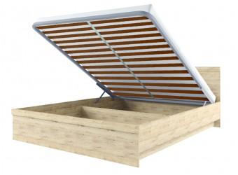 Двуспальная кровать Оскар 140 с подъемным механизмом