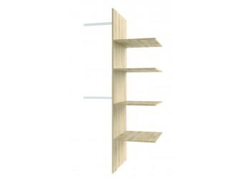 Комплект полок для шкафа Оскар 2DG