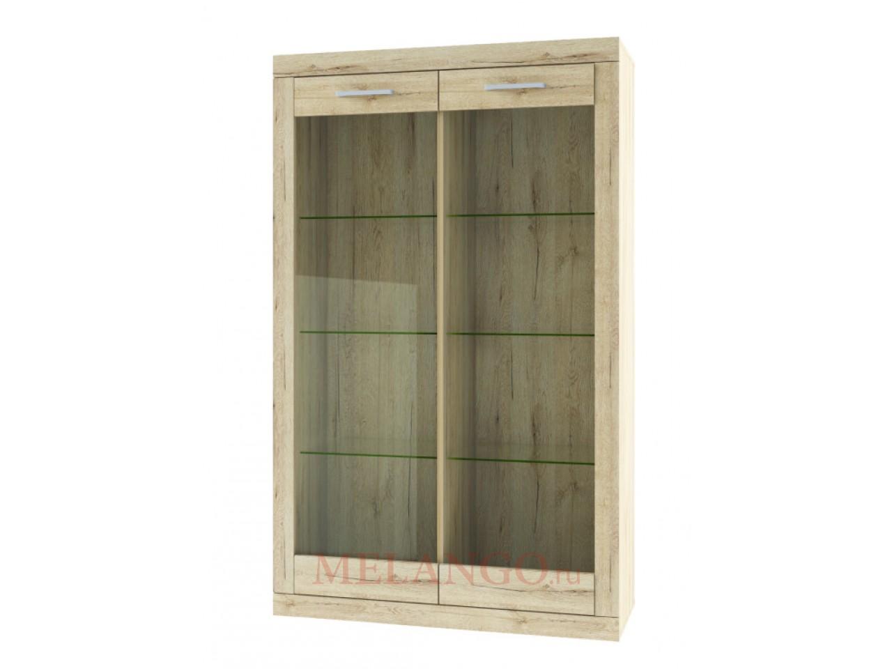 Шкаф-витрина для посуды Оскар 2V