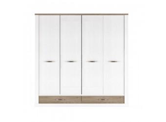 Четырехстворчатый шкаф для одежды Прованс 4DG2S