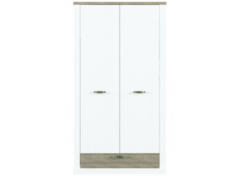 Двухстворчатый шкаф для одежды Прованс 2DG1S