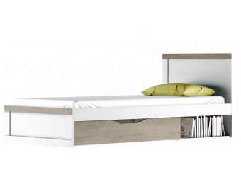 Односпальная кровать Прованс 90 с выдвижным ящиком