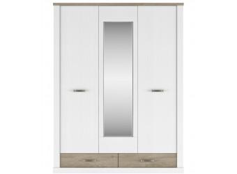 Трехстворчатый шкаф для одежды с зеркалом Прованс 3DG2S