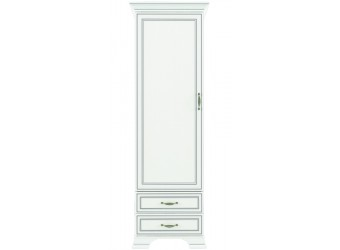 Шкаф-пенал для одежды Тиффани 1D2S крем вудлайн