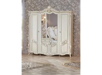 Спальня Беатрис 4-х дверный шкаф