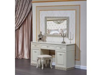 Туалетный столик с зеркалом Берта (жемчуг)