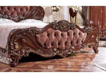 Кровать Элиза Люкс (орех) 1800х2000