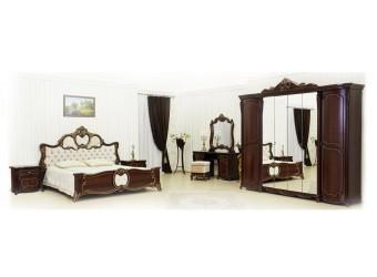 Спальня Лорена (темный орех) 6-и дверный шкаф