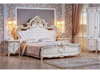 Спальня Орнелла (крем) 5-ти дверный шкаф