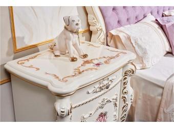 Спальня Венеция Классик (крем) 6-х дверный шкаф