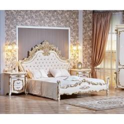 Кровать Венеция (крем) 1800х2000