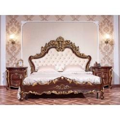 Кровать Венеция (темный орех) 1800х2000