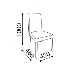 Комплект обеденных стульев для гостиной Кастелло CAST-16-02