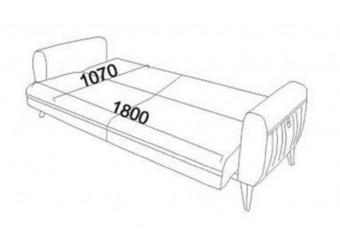 Трехместный диван-кровать Cozy (Кози) cozy-02
