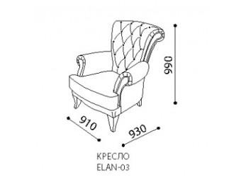 Кресло ELANTRA (Элантра) ELAN-03