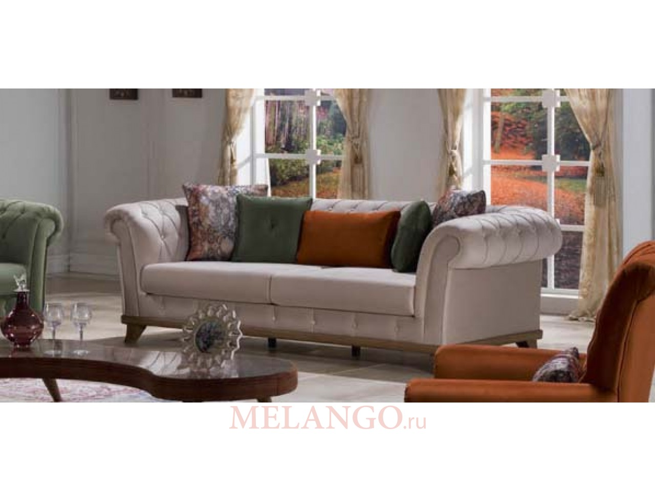 Двухместный диван-кровать VERSAY (Версай) VERS-02