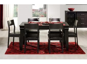 Раскладной обеденный стол для гостиной Мира MIRA-04 венге