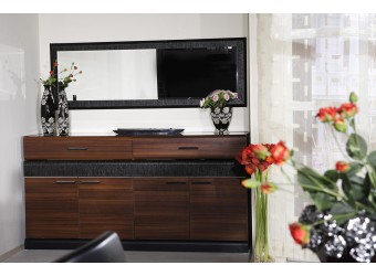 Длинный комод для посуды в гостиную Вера VERA-03