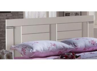 Спинка для кровати Мира MIRA-25 белая