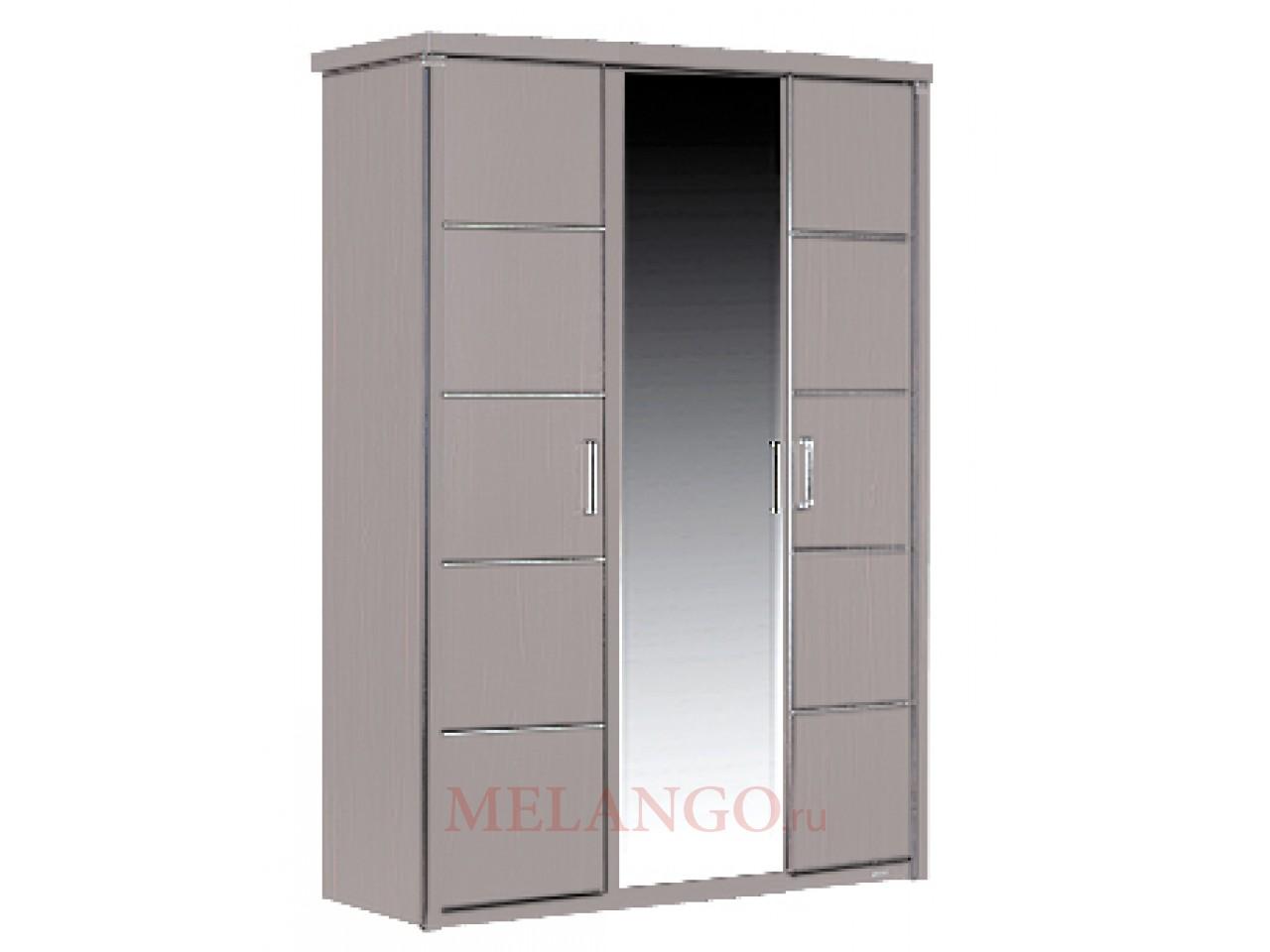 Трехстворчатый шкаф Мира MIRA-21 белый