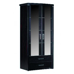 Двухстворчатый шкаф для одежды Мира MIRA-22 венге