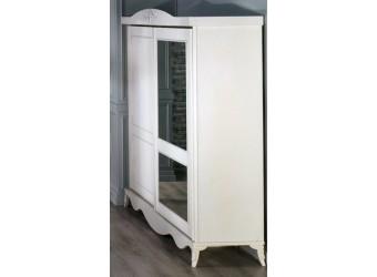 Двухдверный шкаф купе Романс RMNC-19