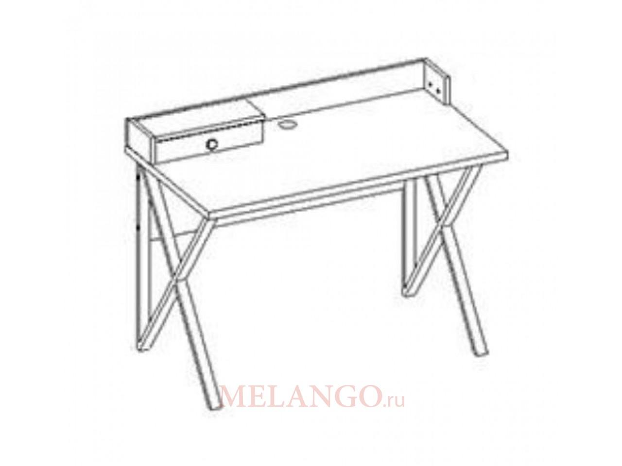 Письменный стол SANTINO (САНТИНО) SNTO-51