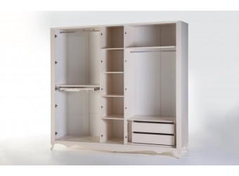 Пятистворчатый шкаф в спальню Седеф SEDF-20