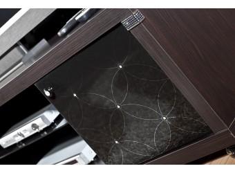 Стенка под телевизор для гостиной Мира MIRA-03 венге