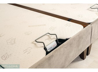 Двуспальная кровать Vivent (Вивент) с подъемным механизмом