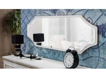 Зеркало для комода в гостиную Волга(светлая) VOLGA-11
