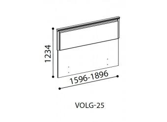 Спинка для кровати Волга(светлая) VOLGA-25-160