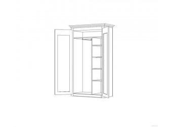Двухдверный шкаф для одежды Элбург БМ-1441 (дуб рустикаль)