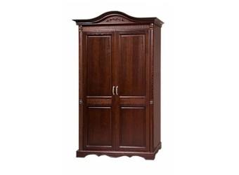 Двухстворчатый шкаф для одежды Паола БМ-2169 (горячий шоколад)