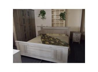 Двуспальная кровать Доминика БМ-2119 (серо-бежевый) 1400 мм