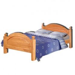 Двуспальная кровать Лотос сосна Б-1090-05 (искусственное старение) 1400 мм