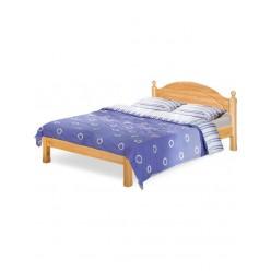 Двуспальная кровать Лотос сосна Б-1090-08 (искусственное старение) 1400 мм