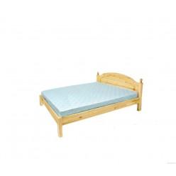 Двуспальная кровать Лотос сосна Б-1090-08 (натуральная сосна) 1400 мм