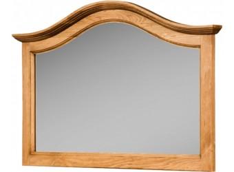 Настенное зеркало Лотос сосна (искусственное старение)