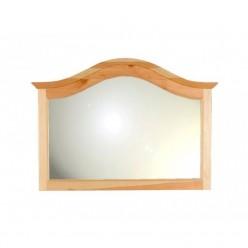Настенное зеркало Лотос сосна (натуральная сосна)