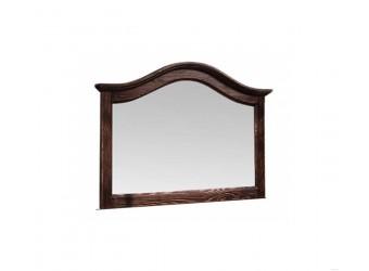 Настенное зеркало Лотос сосна (мокко)