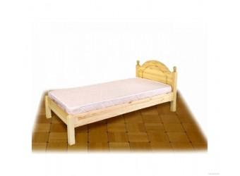 Односпальная кровать Лотос сосна Б-1089-08 (лак без крашения)