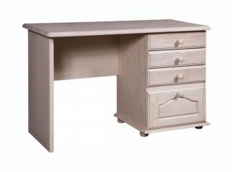 Письменный стол Лотос сосна (белый воск)