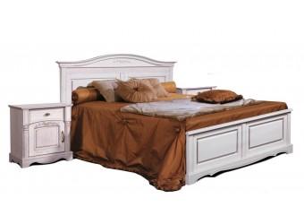 Двуспальная кровать Паола БМ-2172 (розовый пепел) 1800 мм
