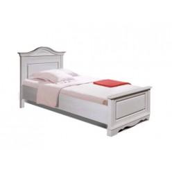 Односпальная кровать Паола БМ-2168 (розовый пепел)