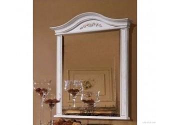 Настенное зеркало Паола (розовый пепел)